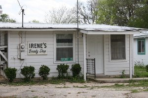 Irene Silva has operated a beauty shop in Staples, Texas since 1968